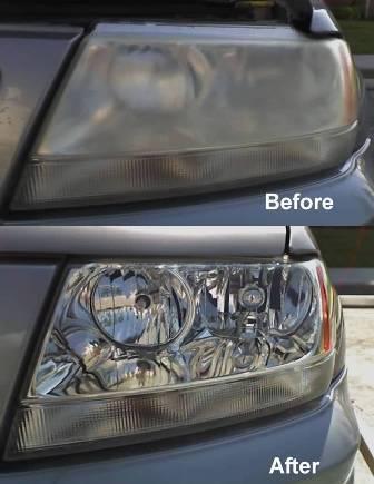 DYI Headlights Restoration: Cleaning Cloudy Foggy Headlights